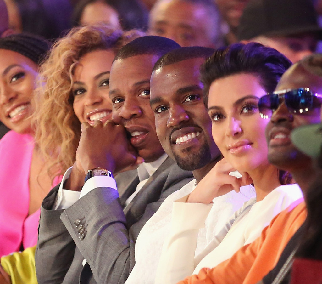 Beyoncé And Kim Kardashian Stood Next To Each Other For A Brief Moment At The Grammy Awards