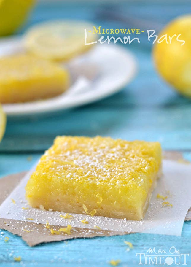 31 microwave recipes that are borderline genius microwave lemon bars forumfinder Image collections