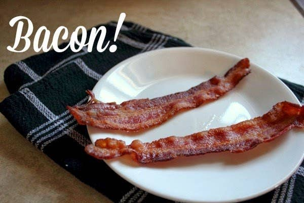 No more scrubbing bacon grease off of your favorite skillet. Instructions here.