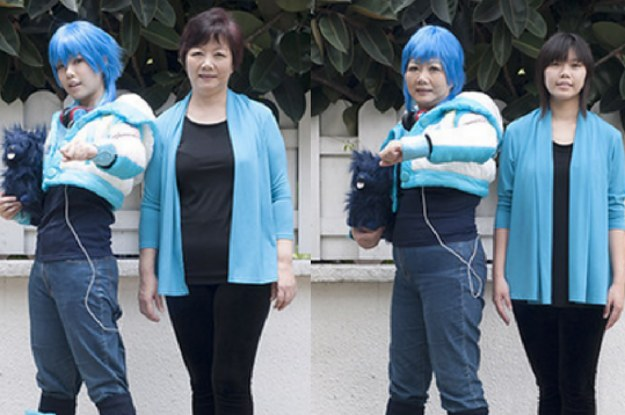 Teenagers Swapped Clothes With Their Grandparents For These Delightful Photos