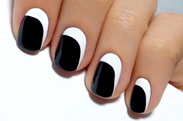 27 lazy girl nail art ideas that are actually easy - Simple Nail Design Ideas