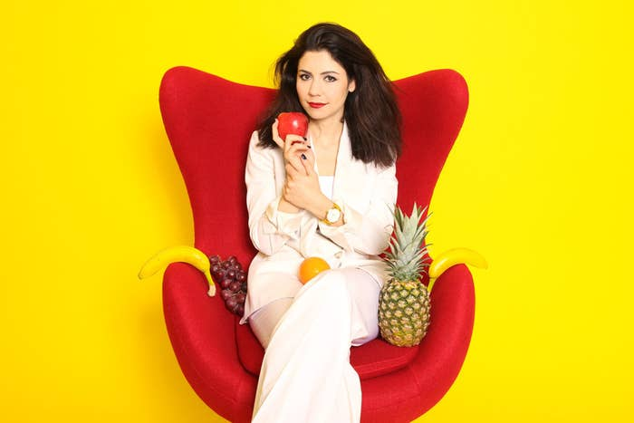 We Draped Marina And The Diamonds In Fruit And Talked About Froot