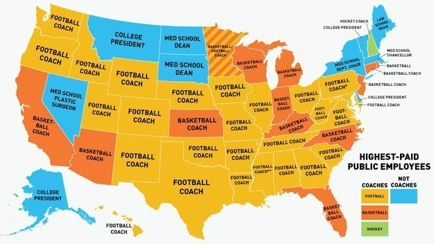 49 Maps That Explain The USA For Dummies