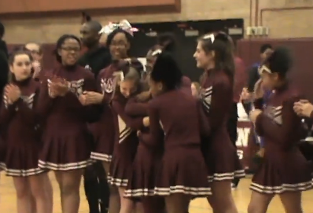 When A Cheerleader With Down Syndrome Was Bullied These Athletes Took An Awesome Stand