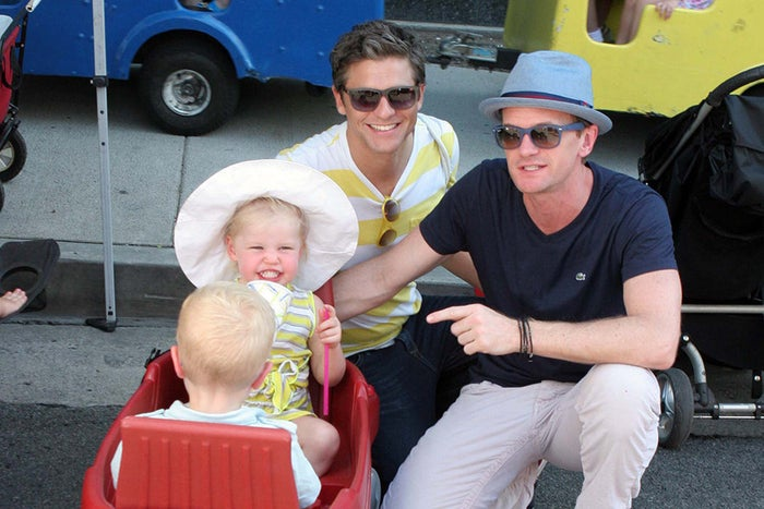 Not only are NPH and David both 37, but they share a set of twins, born in October 2010. They take pretty much the best photos together of anyone and this whole list could probably just be of their family.