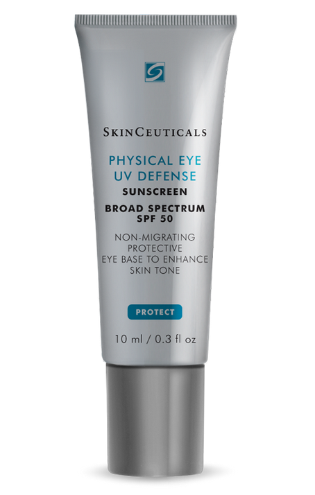Start wearing sunscreen around your eye area now.