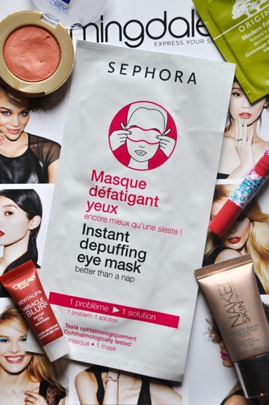 Get into the routine of using an eye mask.