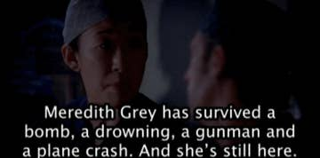 8 Times Meredith Grey Beat The Odds On