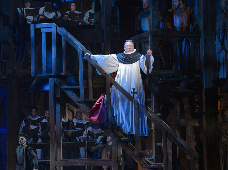 Patrick Page as Judge Frollo in The Hunchback of Notre Dame musical
