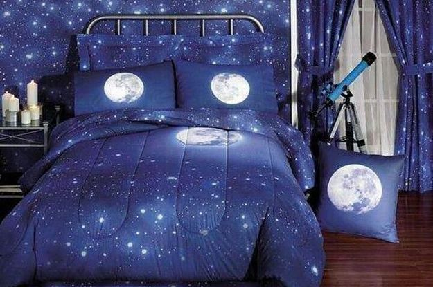 22 Galactic Themed Bedroom Items That Are Out Of This World