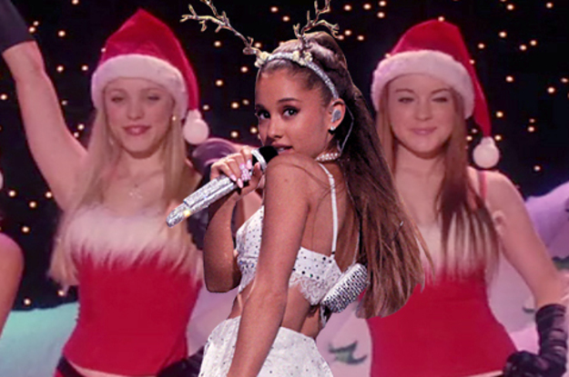 This Ariana Grande Mean Girls Photo Mash Up Is Perfect