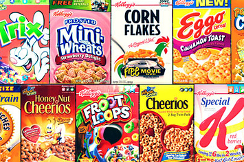 31 things you can make out of cereal boxes for Design your own cereal box template