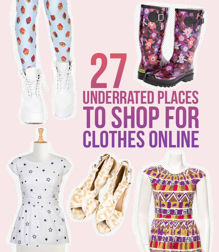 24 Totally Underrated Places To Shop For Clothes Online