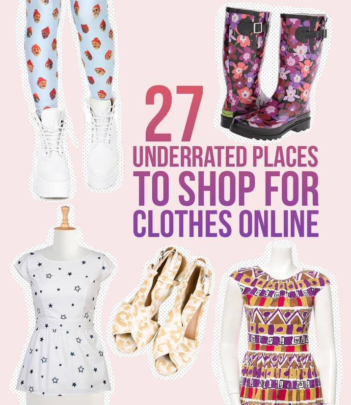 Totally Underrated Places To Shop For Clothes Online - Free billing invoice template women's clothing stores online