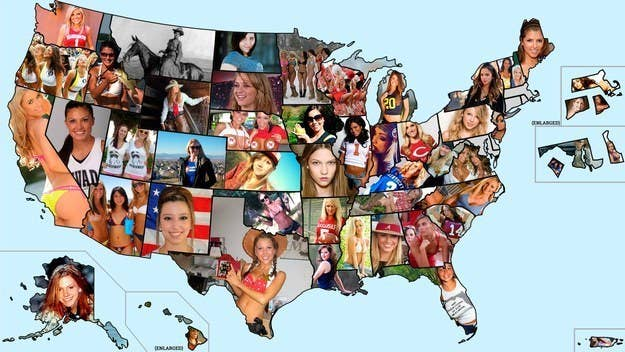 Maps That Explain The USA For Dummies - Us map collage