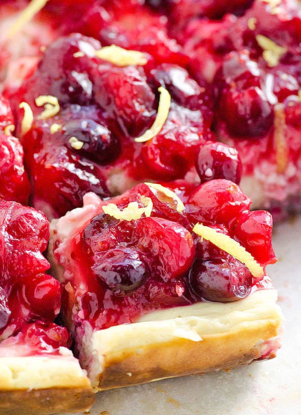 Seriously, no one will ever know. This recipe features lemon and cranberries.