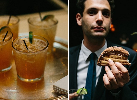 Choco Tacos and cocktails: