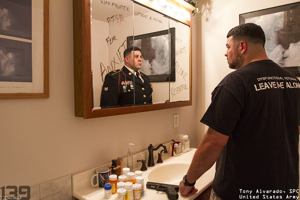 Hookup a military man with ptsd