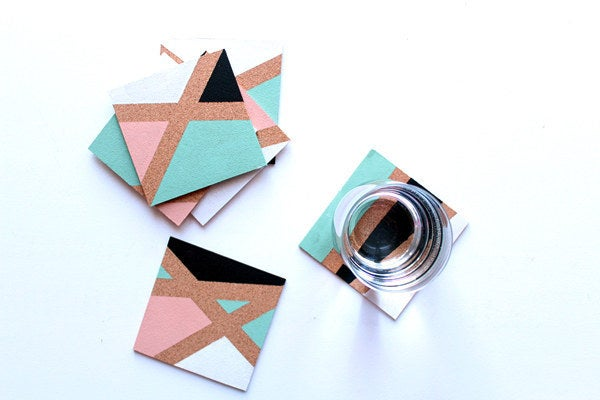 Go crazy with shapes and geometric designs! Find out how to make them here.