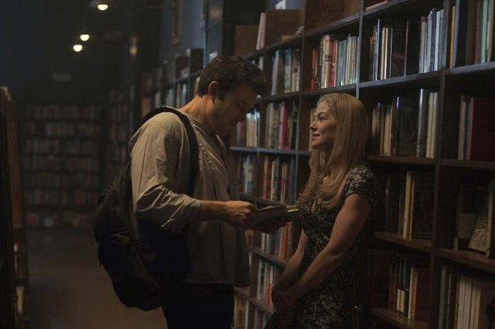 Before Gone Girl made audiences question everything they know about their loved ones, David Fincher's twisty thriller featured a hot hook-up scene between Nick (Ben Affleck) and Amy (Rosamund Pike) in the back room of a dimly-lit bookstore. No, not THAT scene.Notable for: sexy times, stockroom shenanigansWant to go to there?: Sunny SoCal's The Last Bookstore in downtown Los Angeles subs-in for a New York City bookshop. Just save the scavenger hunt for the library.
