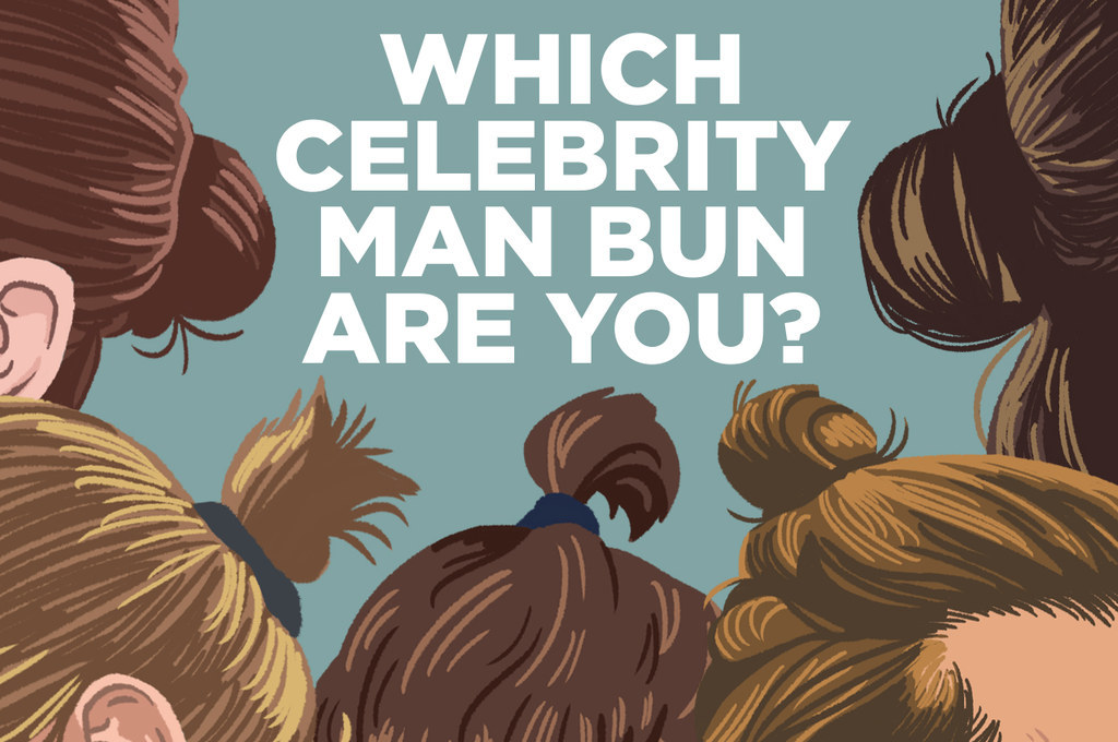 13 Celebs Who've Expertly Rocked Man Buns - YouTube