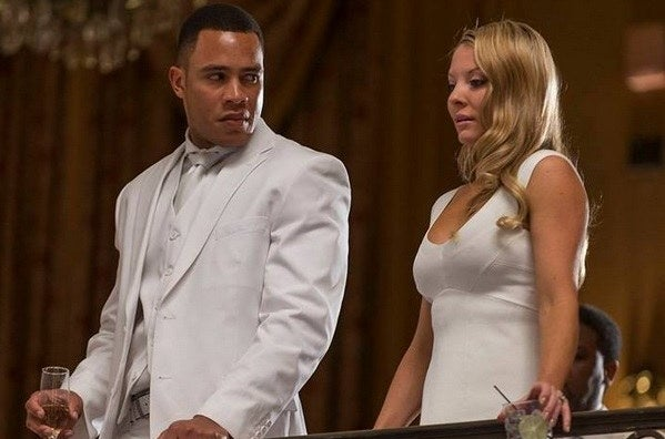 Andre (Trai Byers) and his wife Rhonda (Kaitlin Doublesday)