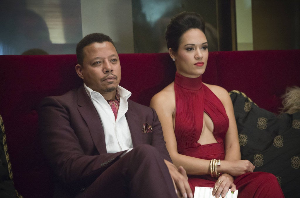 Lucious and his second wife Anika (Grace Gealy)