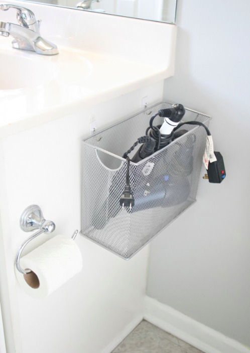 And free up storage space under the sink. Get the tutorial here.