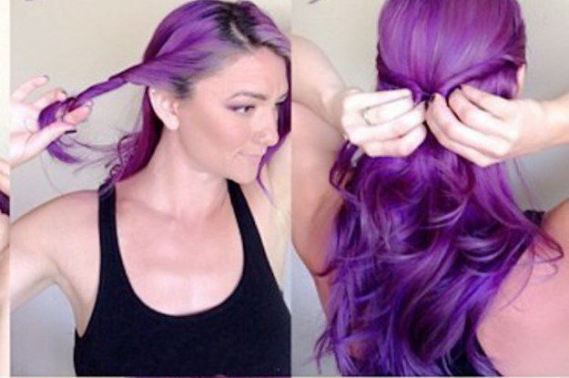 21 ridiculously easy hairstyles you can do with spin pins solutioingenieria Image collections