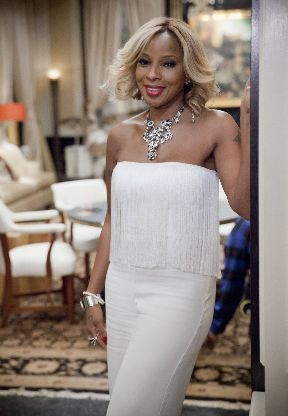 Mary J. Blige as Angie