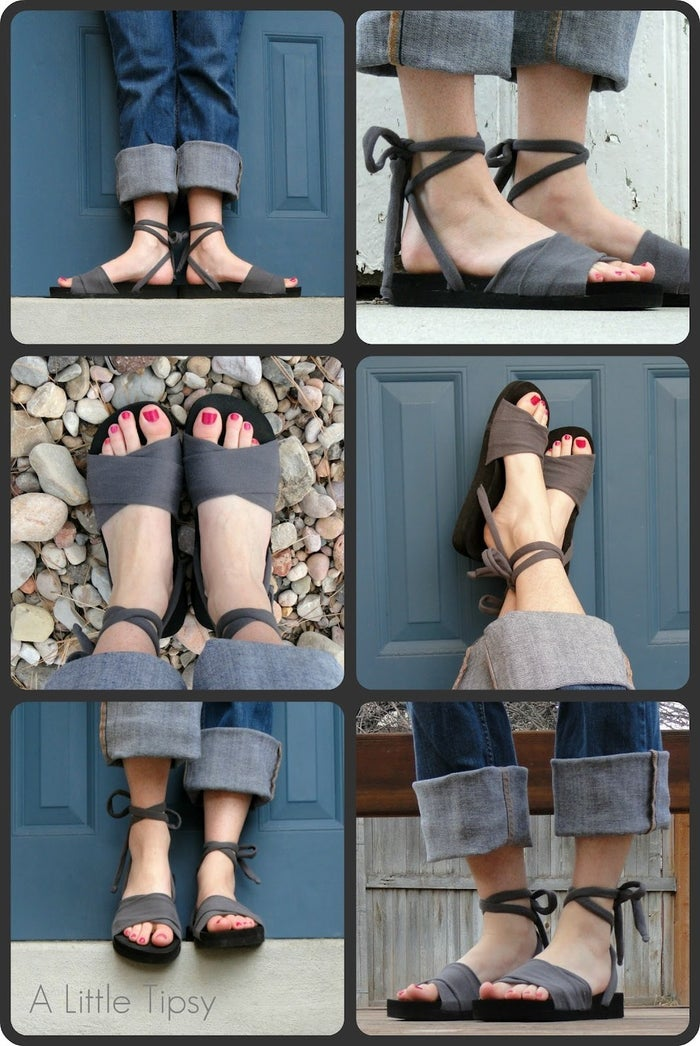 Perhaps you want to repurpose those old flip-flops. Find instructions here.