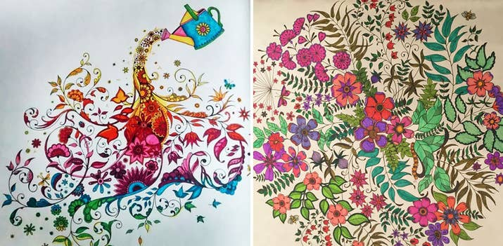 Meet The Woman Who Sold A Million Copies Of Her Coloring Books For