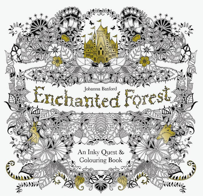 The Illustrator Also Just Released Her Second Book Enchanted Forest Inspired By Woodlands Around Grandparents House On Isle Of Arran
