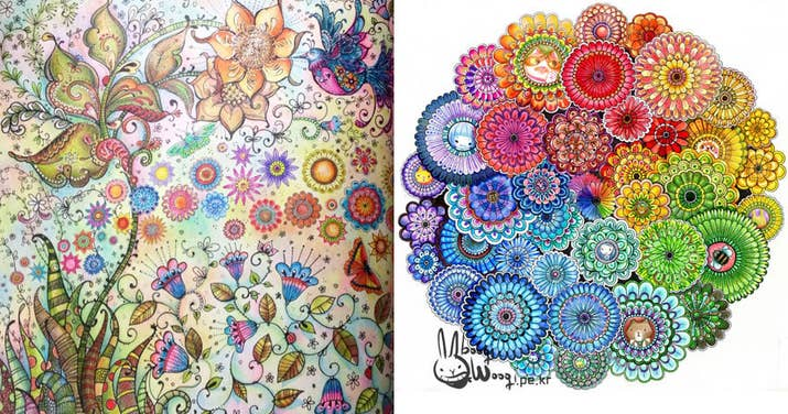 Coloring Seems To Help People Think About A Time When Life Was Simpler And More Carefree
