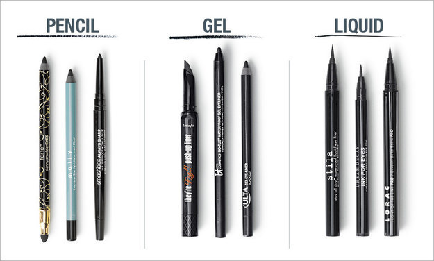 First: Know that there are three basic types of liners.