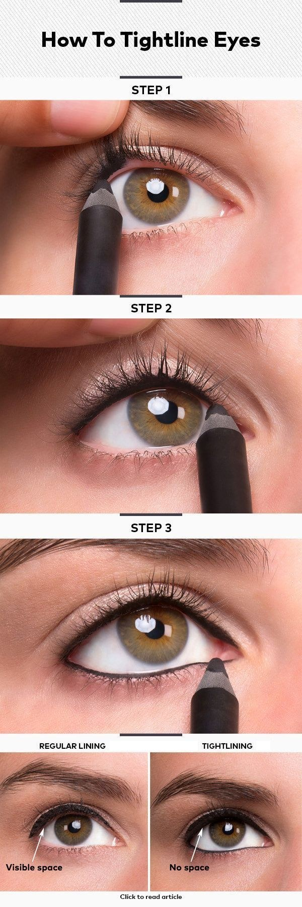 images How to Wear Eyeliner for Beginners-Tutorial (Pics and Videos)