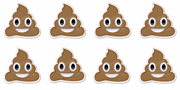 Tactueux image intended for printable poop emoji