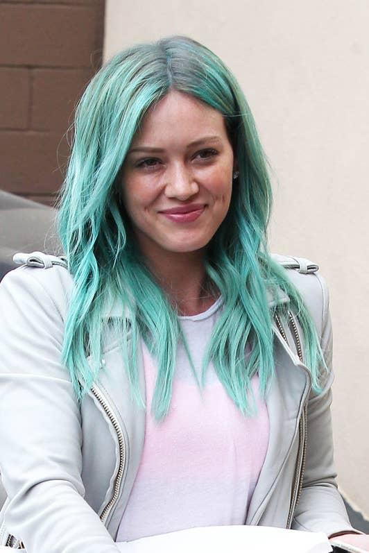 15 Celebs Rocking Badass, Colorful Hair