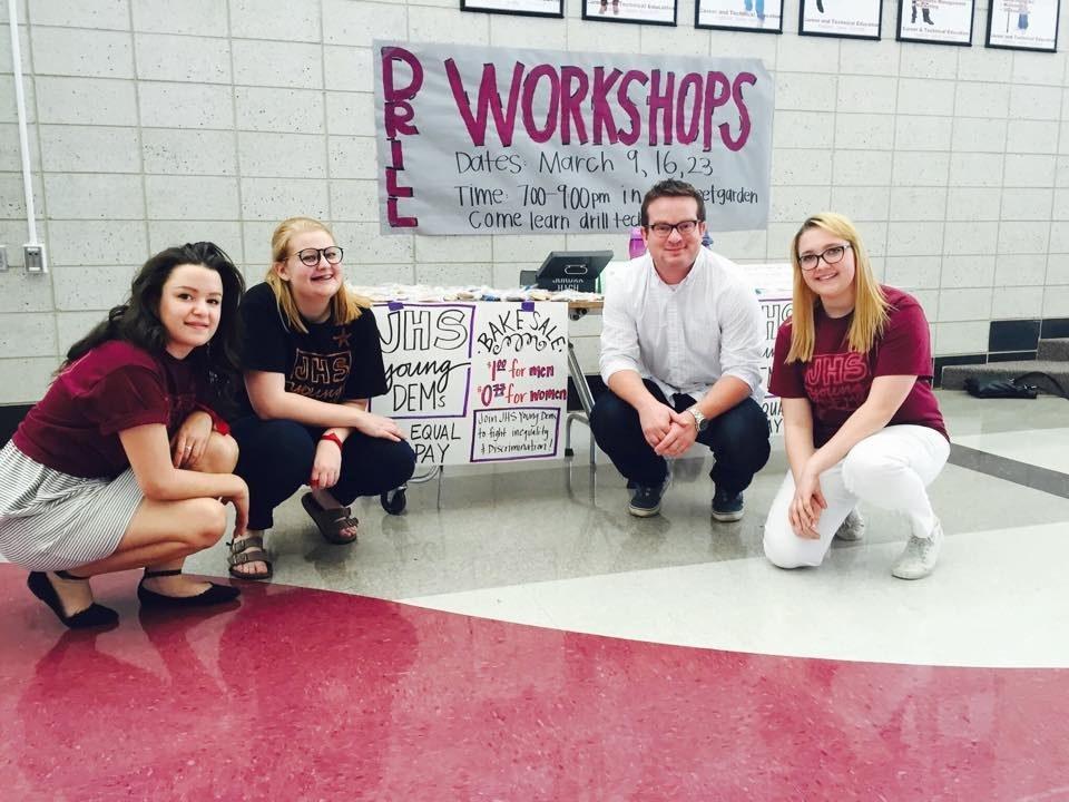 High school bake sale