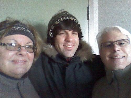 DeHart family in Canada, 2013.