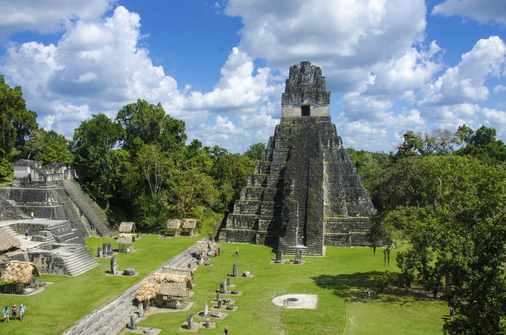 Tampoco se te ocurra ir a Tikal.