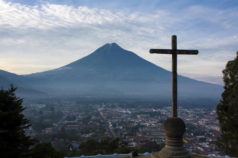 Se supone que uno de los lugares que debes visitar es Antigua Guatemala.