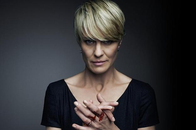 The Power And Terror Of Claire Underwood S Hair