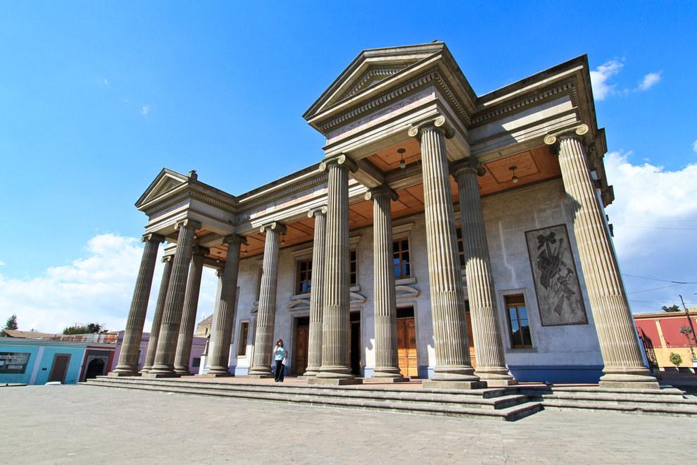 La arquitectura del país es terrible y no tiene nada de historia.