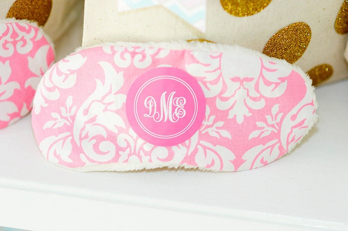 Shirts, pajamas, napkins, towels, tote bags, blankets, pillow cases — all good things to put your initials on. Think of it as a posh way to claim something as yours.