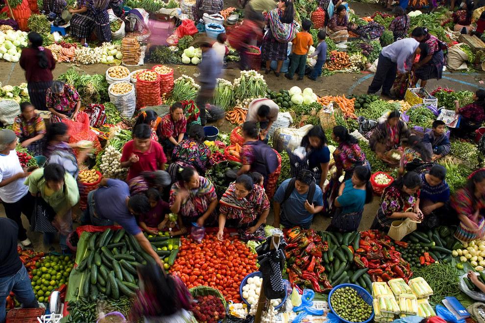 En los mercados del país, nunca encontrarás productos frescos.