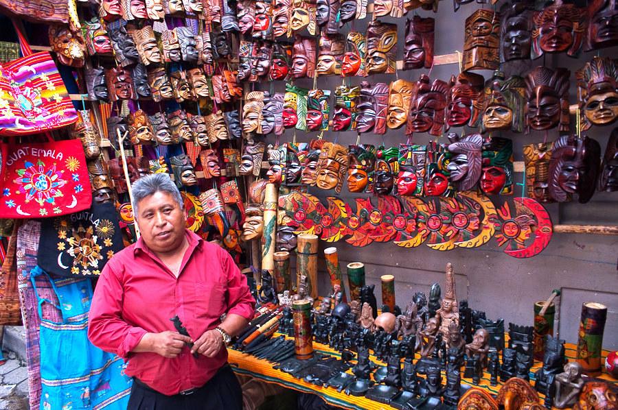 O productos artesanales que quieras comprar como souvenirs.