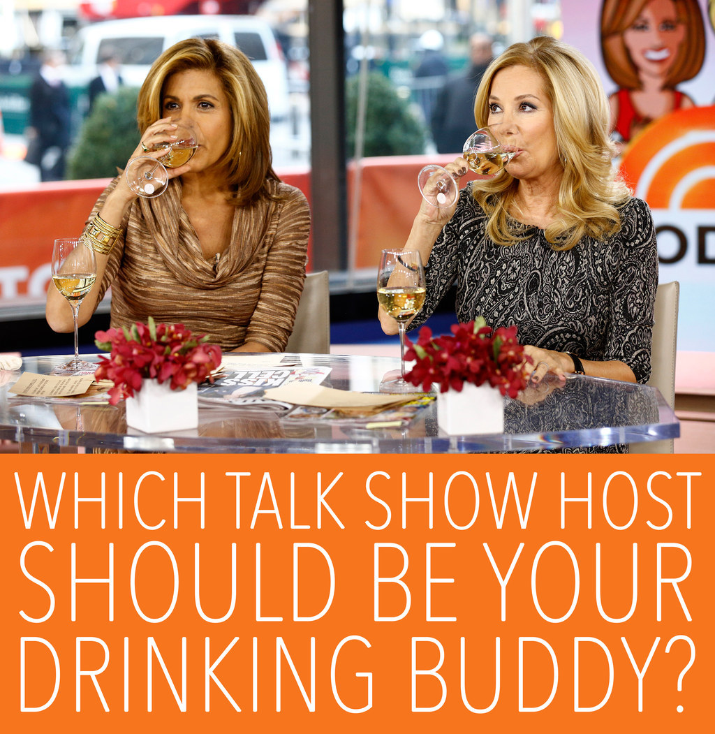Which Talk Show Host Would Be Your Drinking Buddy? - BuzzFeed