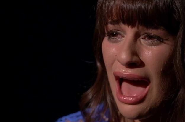 Cory Monteith Girlfriend Crying