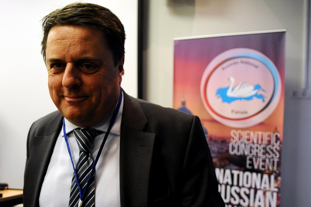 Nick Griffin Wants Vladimir Putin To Save Europe From Itself